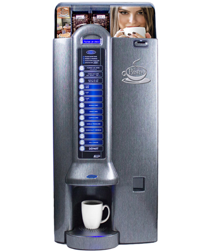 Bistro M2L Titanium coffee machine