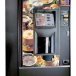 Diem 223 Automatic Product, offers up to 15 choices of hot beverages, in 2 cup formats.