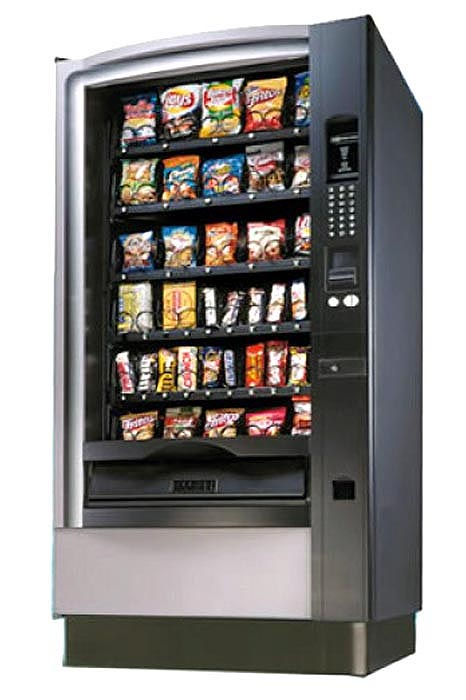 National 167 Refurbished Snack Vending Machine Distomatic