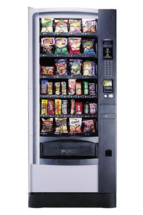 National 168 A Refurbished Snack Vending Machine Distomatic