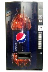 Vendo 480 -10 choices for cold drinks, with Pepsi front design.