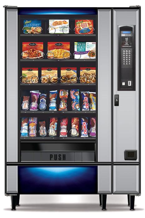 National 455 A Frozen Meals Vending Machine Distomatic