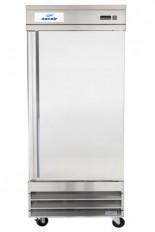 """Réfrigérateur commercial inox 1 porte, 29"""" de large de Danair."""