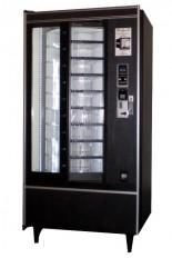 Black Shoppertron, fresh food vending machine