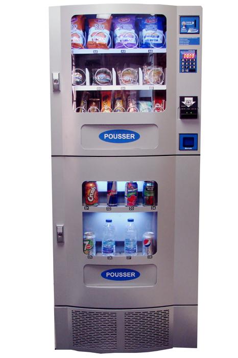 Office Deli Duo Refurbished Combo Compact Vending Machine