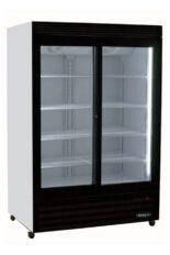 Réfrigéfrateur commercial 2 portes coulissantes vitrées 48 pouces