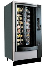 Shoppertron Millénium 431, machine distributrice à mets frais