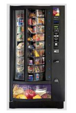 Black Shoppertron 432 refurbished for fresh food vending