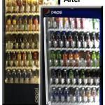 Led lights vs regular neon for vending machine