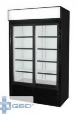 QBD DC40S refurbished 2 glass door refrigerator merchandiser