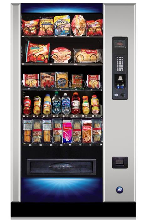Premium Food 5 Refrigerated Vending Machine For Fresh Food